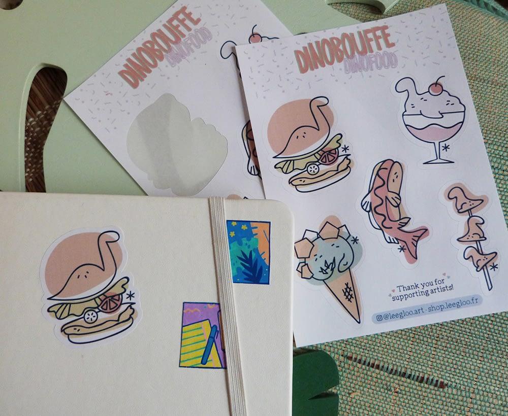 Stickers DinoBouffe