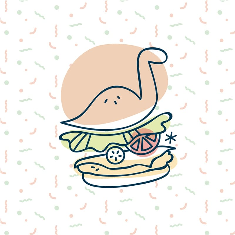 Dino Bouffe, Diplo Burger