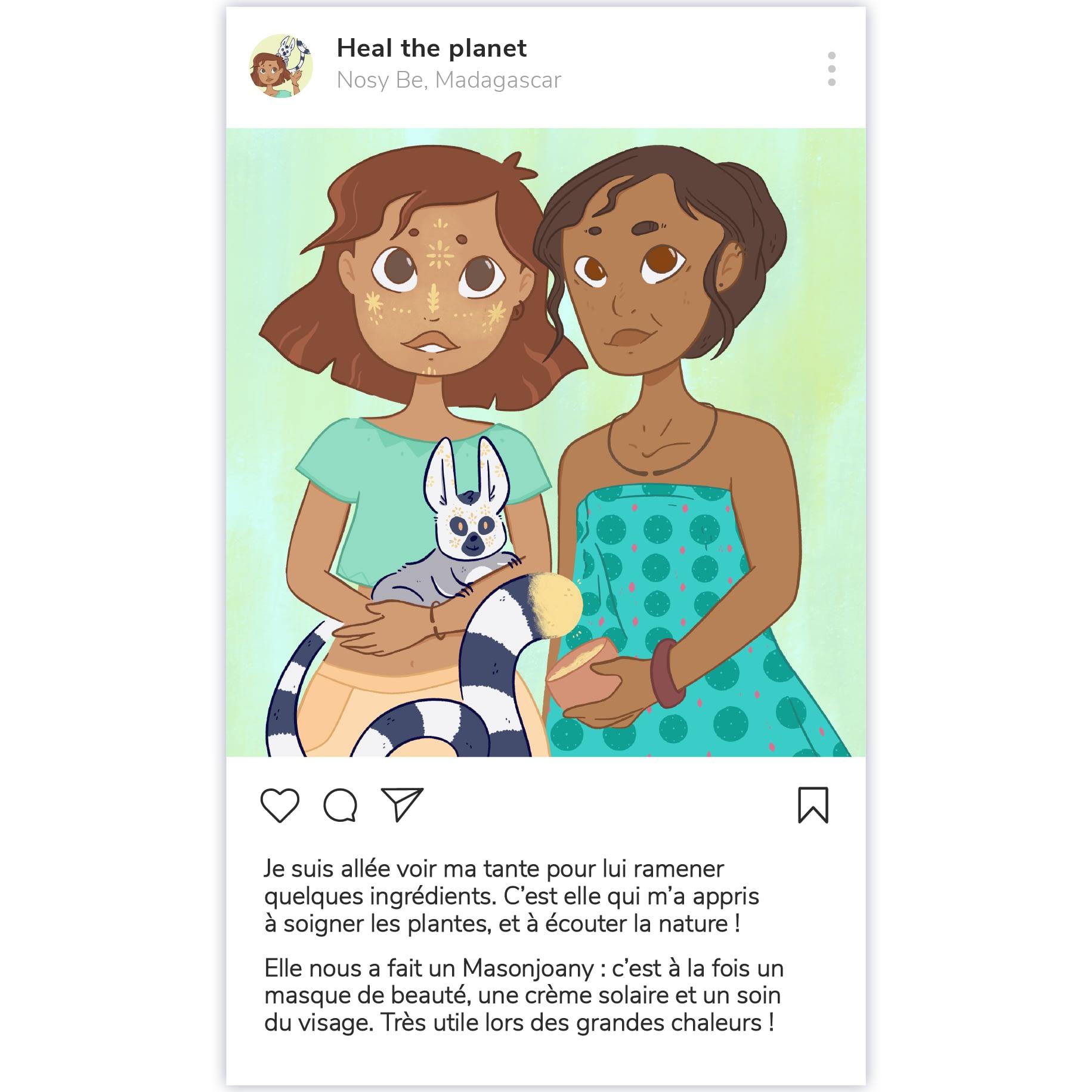 Heal the planet, social media