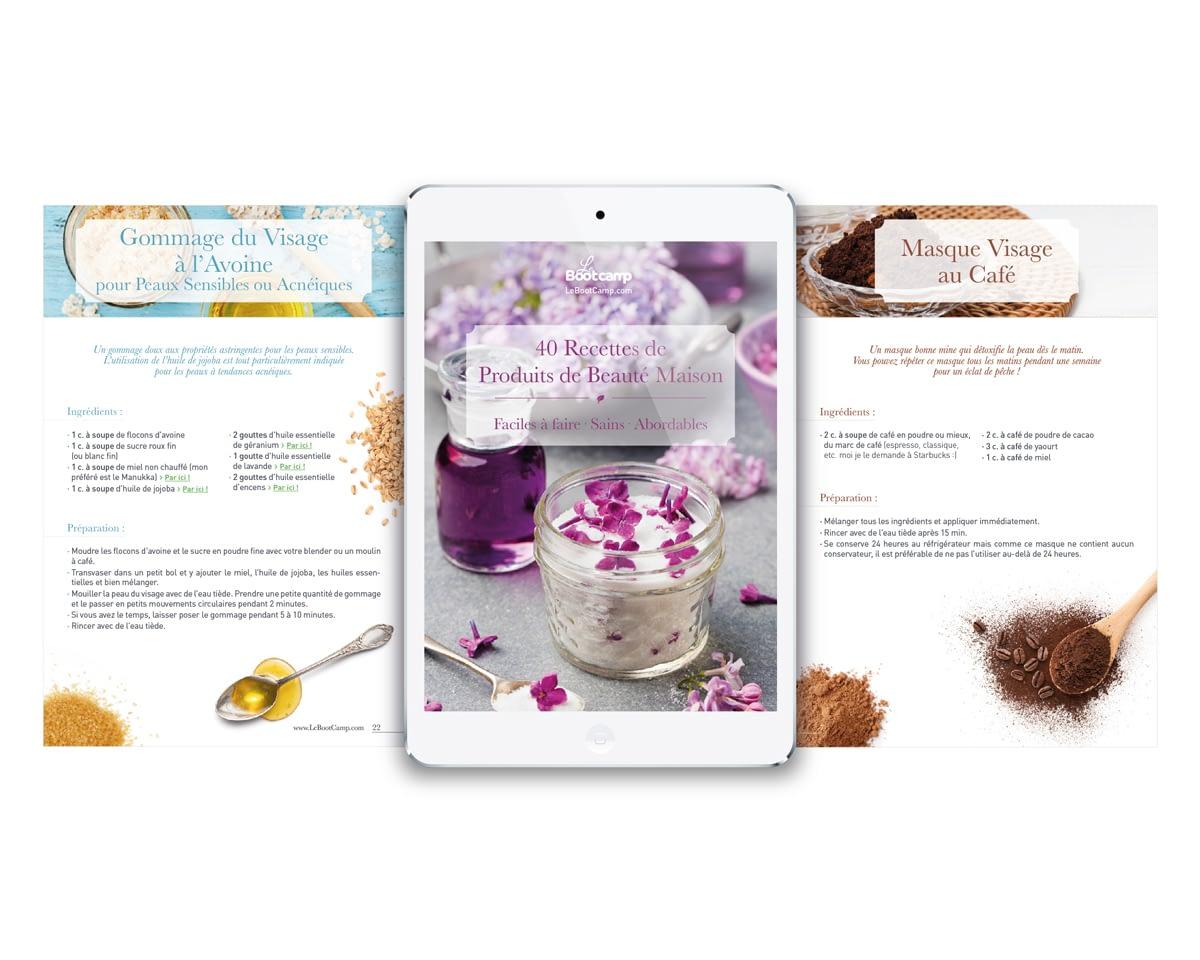 LeBootCamp, Ebook - Produits de Beauté Maison