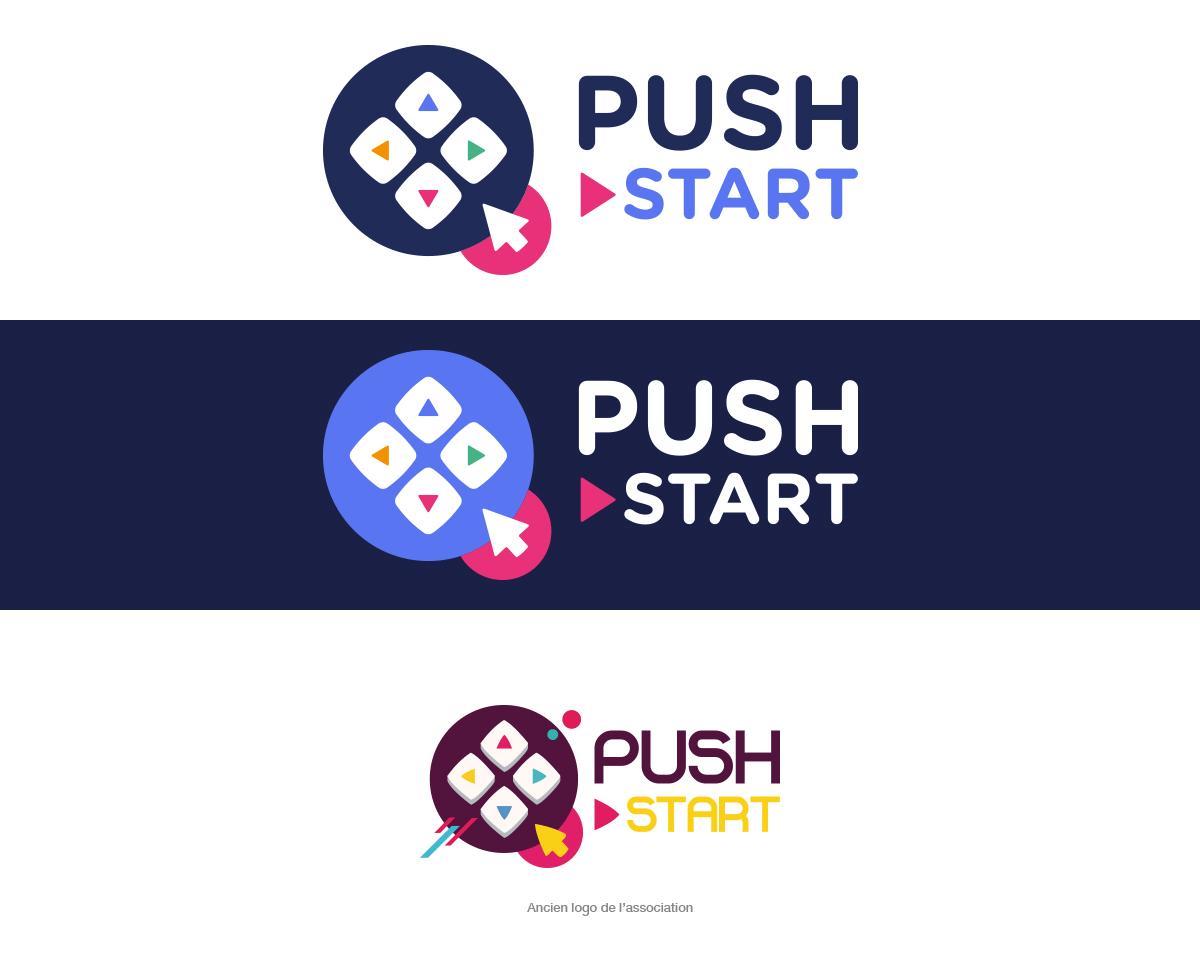 Push Start, refonte de logo