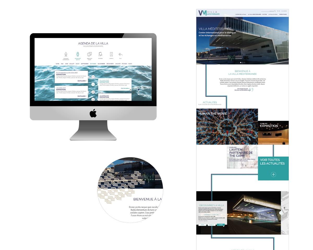 KFH, Webdesign Villa Méditerranée