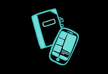 Livre et téléphone