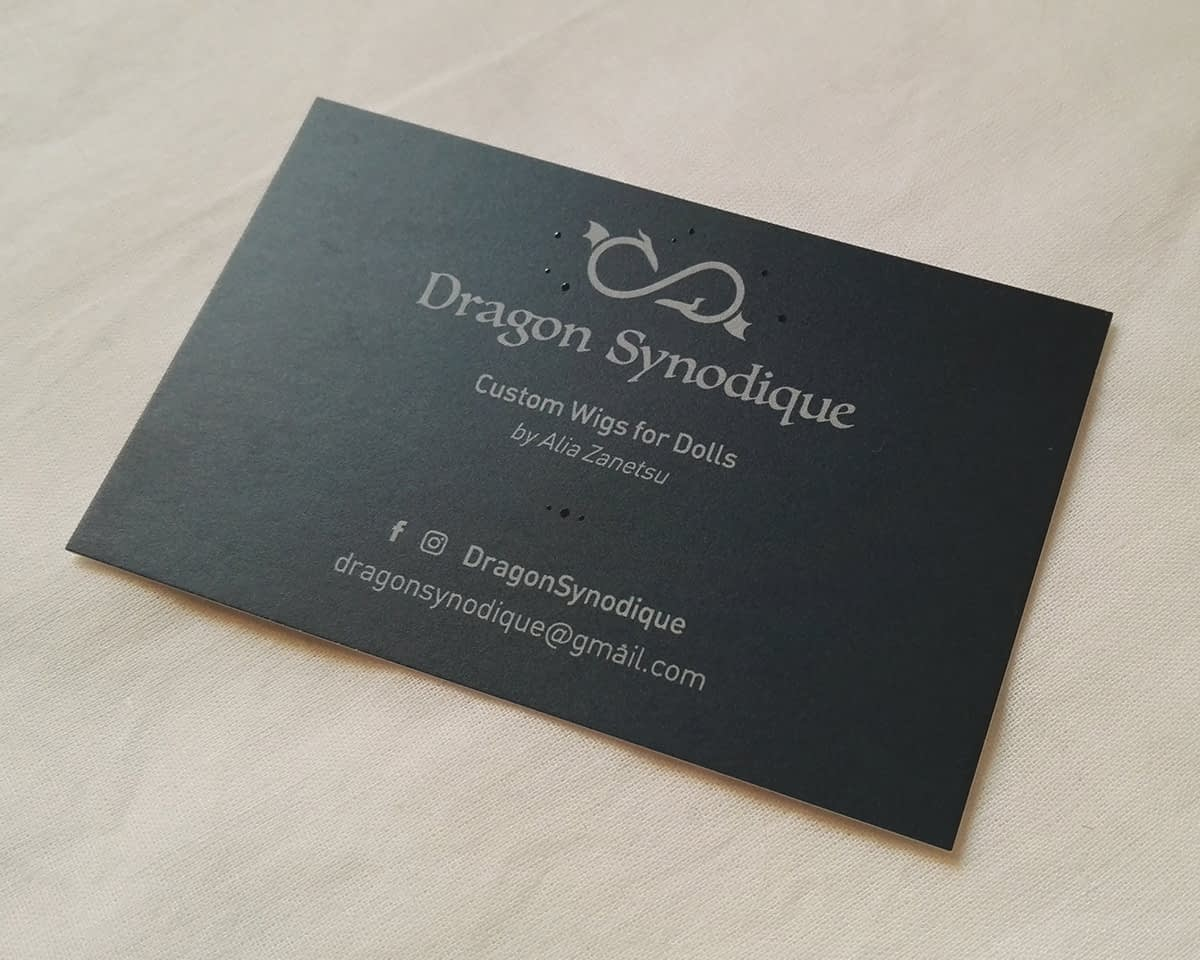 Dragon Synodique, carte de visite