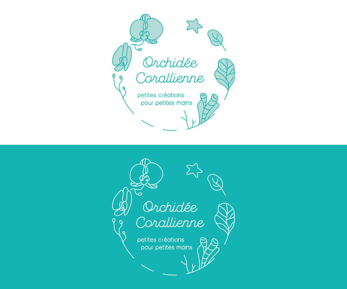 Orchidée Corallienne, logo